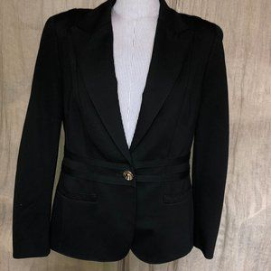 Escada STUNNING AS NEW black blazer jacket 40 10